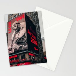 Uzi Times Square NYC 2018 Stationery Cards