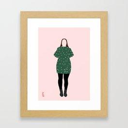 Not even a Bridesmaid Framed Art Print