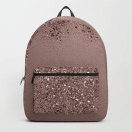 Sparkling Rose Gold Blush Glitter #3 (Photography) #shiny #decor #art #society6 Backpack