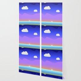 Coloured Landscape Wallpaper