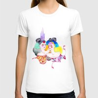 leah flores T-shirts featuring Flores by Tania Orozco