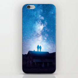 Lovers iPhone Skin