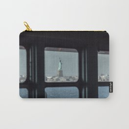 Statue of Liberty from the ferry Carry-All Pouch