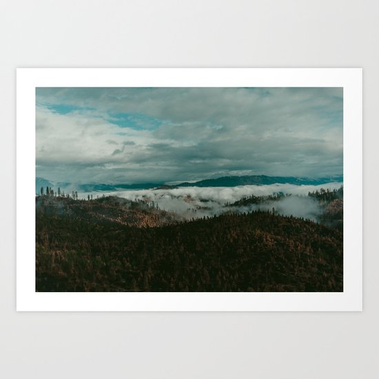 Autumn Wilderness Art Print