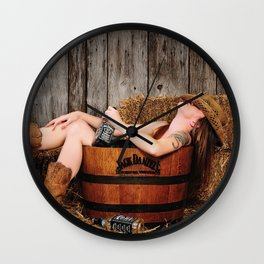 Sweet Dreams Wall Clock