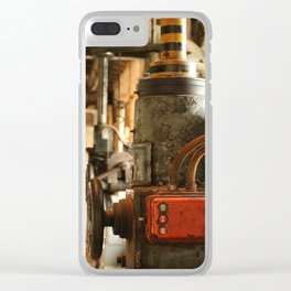 Heavy Industry - Old Machines Clear iPhone Case