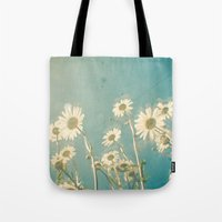 forever young Tote Bags featuring Forever Young by Cassia Beck