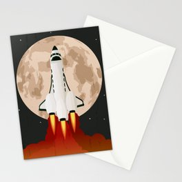 Shuttle launch Stationery Cards