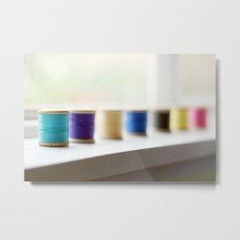 reel colour Metal Print