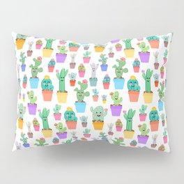 Sunny Happy Cactus Family Pillow Sham