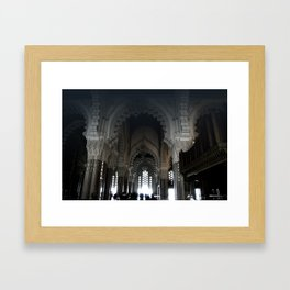 Travel: Morocco Mosque Framed Art Print