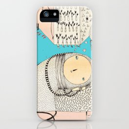 My daily life. iPhone Case