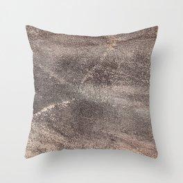 Sandpaper Texture Throw Pillow