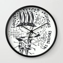 from Liszt to Bach Wall Clock