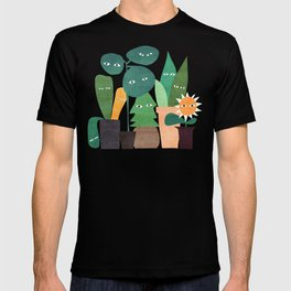 The plants are watching (paranoidos maximucho) T-shirt