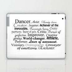 Dancer Description Laptop & iPad Skin