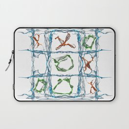X and O Laptop Sleeve