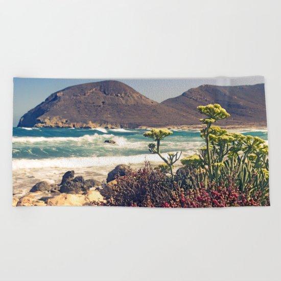 Sea Landscape mar Beach Towel