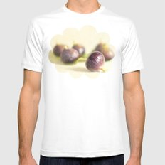 Figs White MEDIUM Mens Fitted Tee