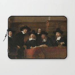 The Syndics of the Amsterdam Drapers' Guild Laptop Sleeve