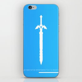 Darkness Sealing Sword - Legend of Zelda iPhone Skin
