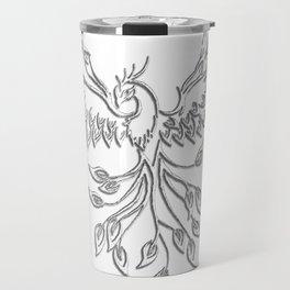 White Phoenix Travel Mug