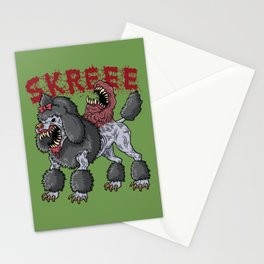 Poodle Parasite Stationery Cards