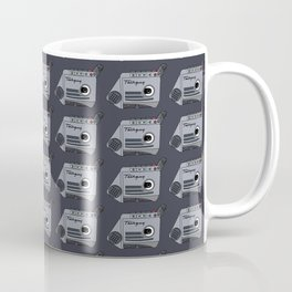 Retro 90s Cassette Tape Recorder Coffee Mug