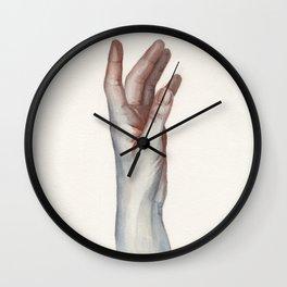 Watercolor study 06 Wall Clock