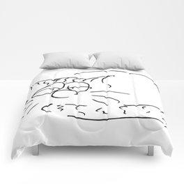 Sleepy Cat Comforters