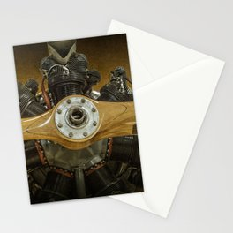 Airplane Propeller of a Fairchild PT-23 Cornell Monoplane Stationery Cards