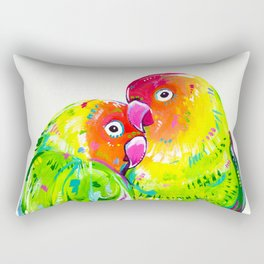 Love Birds Rectangular Pillow