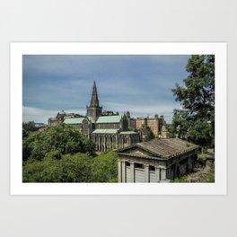 Glasgow Cathedral Art Print