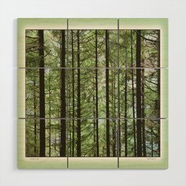 YOUNG FOREST Wood Wall Art