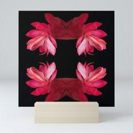 Botanical Kaleidoscope 6 Mini Art Print