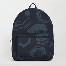 Open Polygons of Steel Backpack