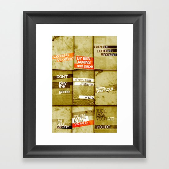 art 2 Framed Art Print