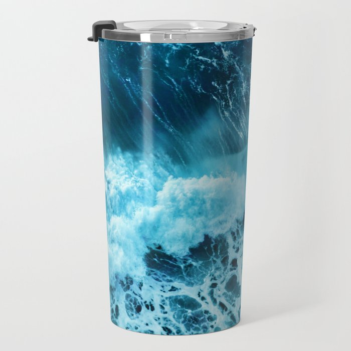 Sea wave Travel Mug
