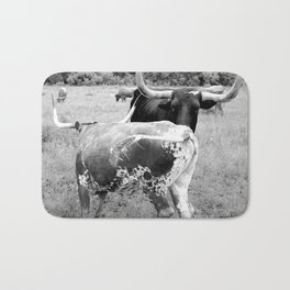"""Longhorns Dancing"" Bath Mat"