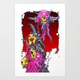 METAL MUTANT 1 Art Print