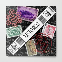 Welcome to Puerto Rico Metal Print
