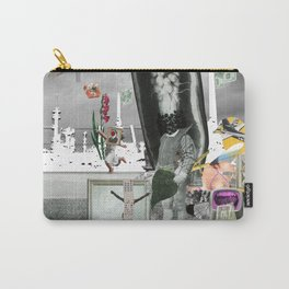 Magritte is waiting · 4 Carry-All Pouch