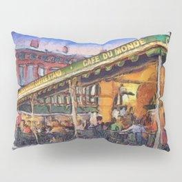 NOLA Cafe Du Monde Pillow Sham