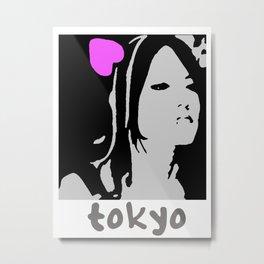 Love Tokyo Metal Print
