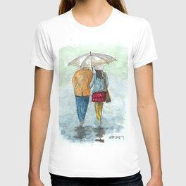 Snowy Walk T-shirt