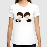 tegan and sara T-shirts featuring Tegan and Sara by Christina Abigail