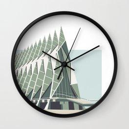 Colorado Springs Chapel Print Wall Clock