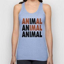 i'm an animal Unisex Tank Top