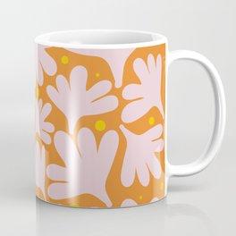 Modern Minimalist Abstract #10 - Peachy Orange Coffee Mug