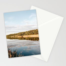 Riverside at Dusk Stationery Cards